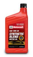 Моторное масло Motorcraft SAE 10W-30 Synthetic Blend Motor Oil