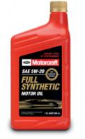 Моторное масло Motorcraft SAE 5W-20 Full Synthetic Motor Oil