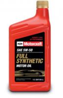 Моторное масло Motorcraft SAE 5W-50 Full Synthetic Motor Oil